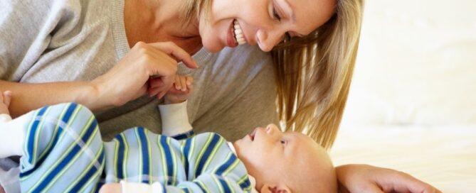 estimulación temprana, mamá y bebé